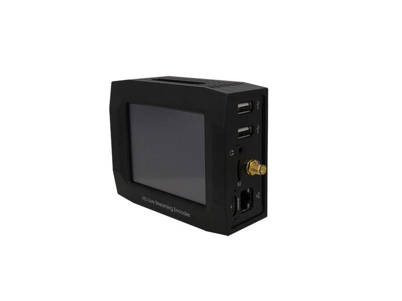 portable bonded dual video streaming encoder