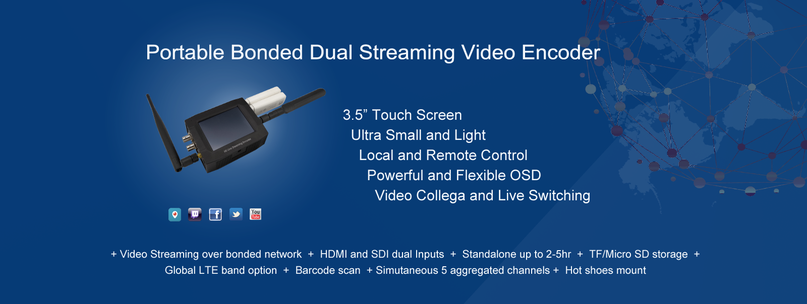 bonded streaming encoder 1600