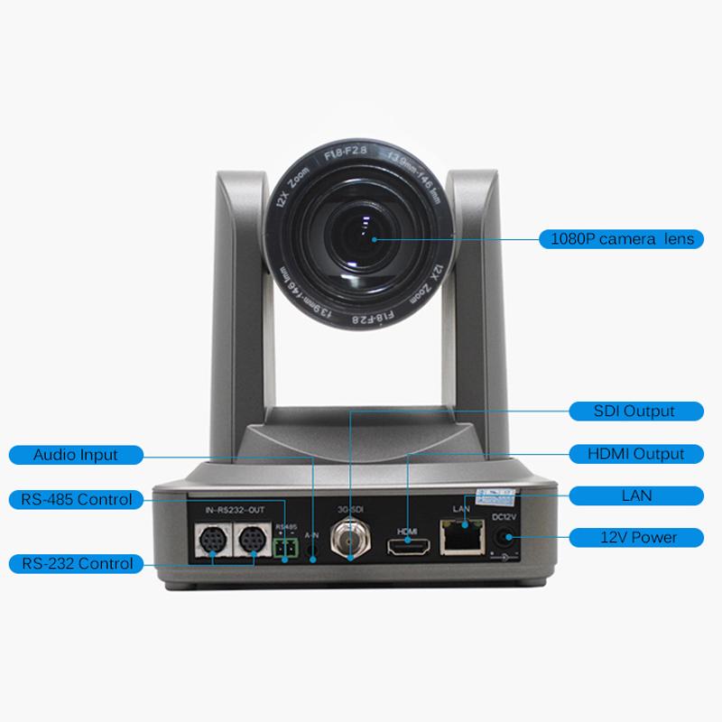 PTZ streaming camera